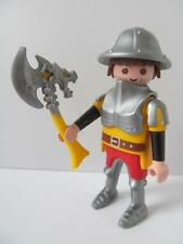 Playmobil Castle/barbarians: Soldier/knight figure with dragon axe NEW