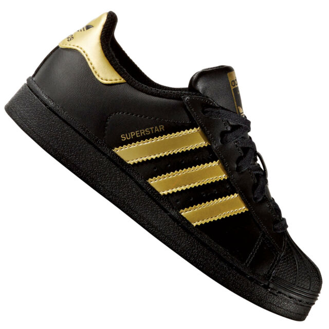 adidas stans smith nere e oro