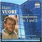 Hari Vuori - Harri Vuori: Symphonies Nos. 1 & 2 (2008)