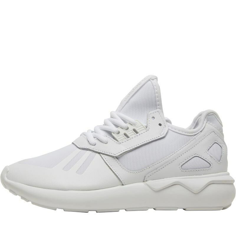 NEW TRAINERS ADIDAS ORIGINALS ALL TRIPLE WHITE TUBULAR RUNNER TRAINERS NEW UK 9 9.5 10.5 a2df0a