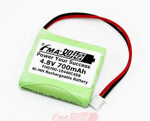 Image Is Loading Ni MH Battery 4 8V 700mAh For Portable