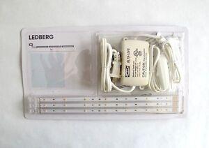Ikea ledberg led 3 piece lighting strip set white warm white plus image is loading ikea ledberg led 3 piece lighting strip set mozeypictures Gallery
