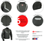 miniature 32 - Leather Motorbike Motorcycle Jacket With CE Armour Sports Racing Biker Thermal