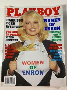 MEN-039-S-INTEREST-August-2002-Playboy-Magazine-Women-of-Enron-FINE