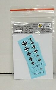 Luftwaffe-Wk-II-Former-BAR-Crosses-Decals-Decal-1-144-Mark-I-New