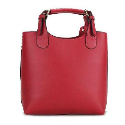 OL Style Women's PU Leather Shoulder Clutch Hobo Tote Large Handbag Bag Purse