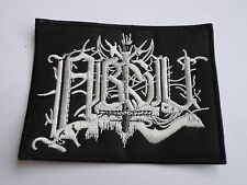 ABSU LOGO BLACK THRASH METAL EMBROIDERED PATCH