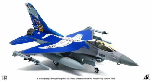 JCW72F16007 1/72 F-16A FIGHTING FALCON PORTUGUESE AIR FORCE 201 SQN 50TH ANNIV