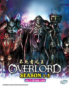 Details about Overlord Complete Season 1 - 3 English Dubbed Anime DVD 36  Episodes + OVA