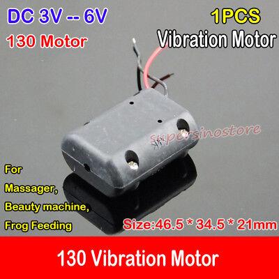 1pcs DC3V Massager Vibrator Motor Vibration Vibrating 130 Carbon Brush Motor