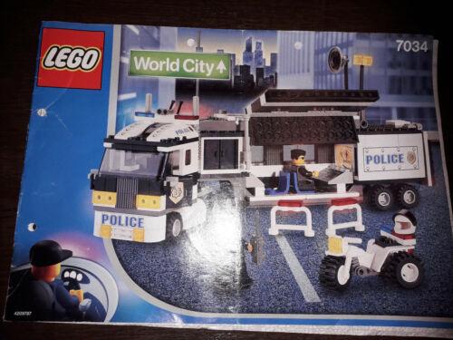 Lego City différentes Instructions D/'occasion bon état