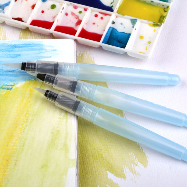 Point Ink Water Brush Pen For Watercolour Draw Painting Chinese Calligraphy 98B