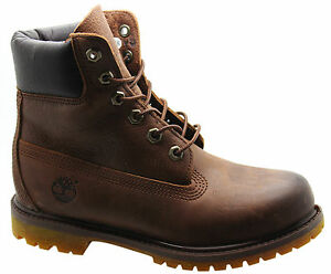 8554b Af Brown Leather Up Womens Inch h Boots Premium Rugged Timberland W Lace 6 TxqwUP