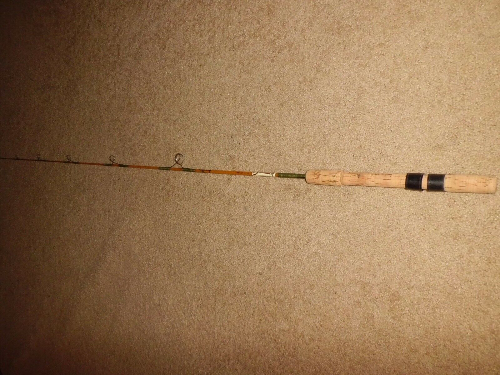 Vintage oren sabre nypoxy  1115 UL Spinning 5-1 2' Rod-USA-Test 2-10 LB
