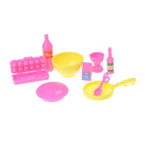Baby-Girls-Play-House-Toys-Plastic-Food-Cake-Cup-Bottle-Kitchen-Kits-Fits-O