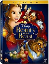 Beauty and the Beast DVD 2 Disc set Diamond Edition New Disney FREE Shipping!
