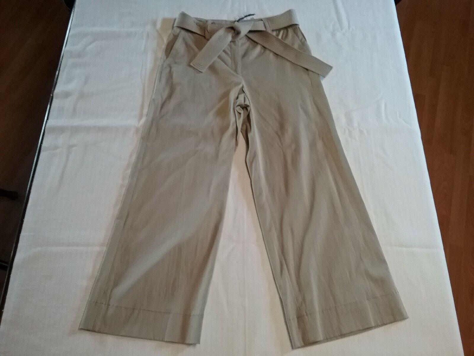 WORTH New York damen Pants Llama Washed Twill Rosie Pant Tan Größe-6 NWT 398