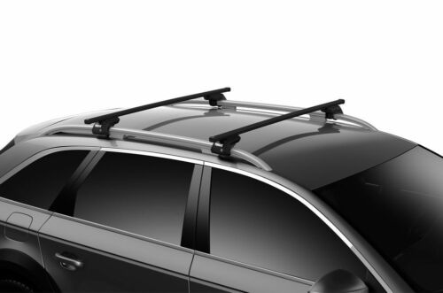 THULE EVO ROOF BARS  FIT FORD GRAND C-MAX 5DR MPV 2010/> WITH OPEN ROOF RAILS