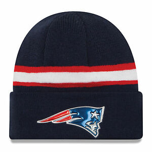bfefd98d5 New Era NFL Beanie New England Patriots Navy Color Rush On Field ...