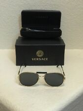 94217594816a item 3 Versace round aviator sunglasses MOD.2167-Q 1002 87 60-15 140 3N Gold Black  -Versace round aviator sunglasses MOD.2167-Q 1002 87 60-15 140 3N Gold  ...