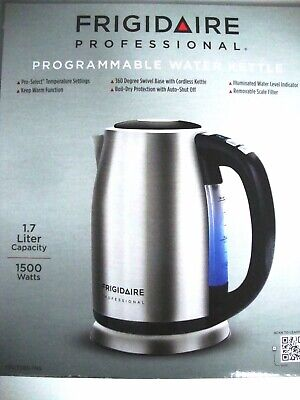 Frigidaire Cordless Water Kettle 1.7L Stainless Steel