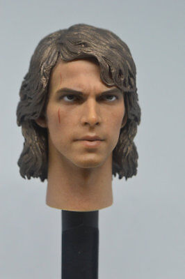 Art toys 1//6 Star Wars Anakin Skywalker headplay for Hot Toys body