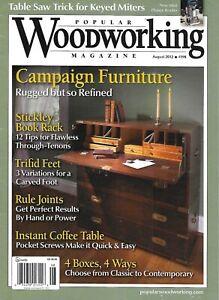 Popular-Woodworking-Magazine-Campaign-Furniture-Stickley-Book-Rack-Trifid-Feet
