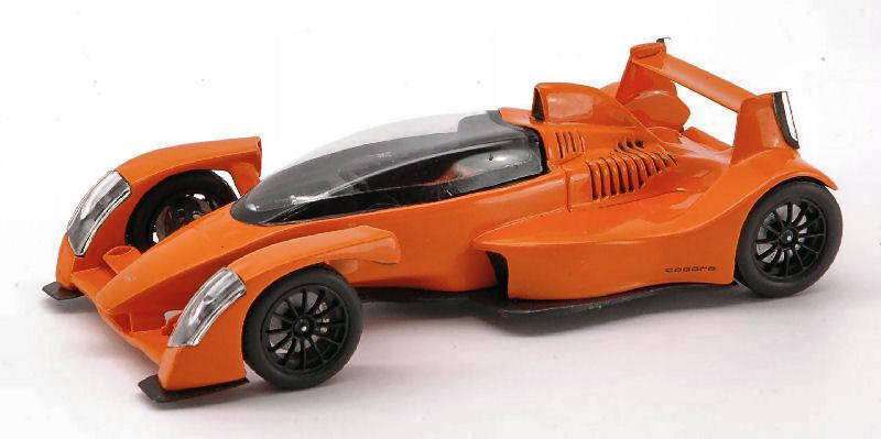 Caparo t 1 2007 naranja 1 43 Model s0627 Spark Model