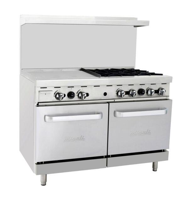Migali C-ro4-24gl 4 Burner Range Oven With 24\