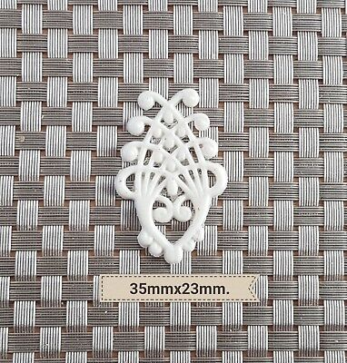 Decorative Resin Mouldings Furniture Applique Shabby Chic Small Lattice Scrolls Home & Garden Other Home Décor