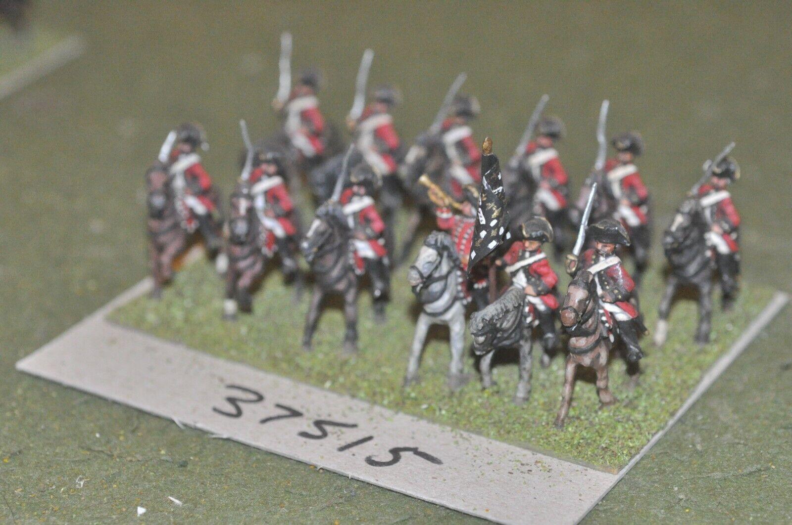 25mm 7YW   french - dragoons 12 Figuras - cav (37515)