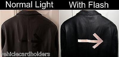 3m Hi Viz Scotchlite Black Reflective Film Tape For Car Bike Pedestrian Clothes