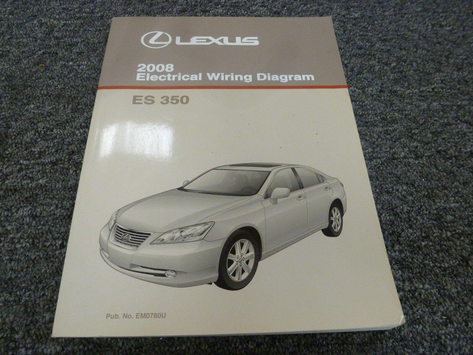 Outstanding Lexus Es 350 Sedan Electrical Wiring Manual 3 5L V6 Fwd 2008 Diagram Wiring Digital Resources Zidurslowmaporg