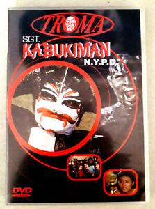 KABUKIMAN-Troma-Lloyd-KAUFMAN-Michael-HERZ-dvd-Tres-bon-etat