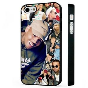 Details about Chris Brown Singer Amazing Collage BLACK PHONE CASE COVER  fits iPHONE