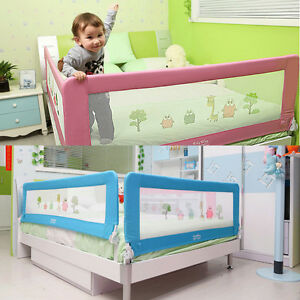 Image Is Loading Child Toddler Bed Rail Baby Bedrail Fold Cot