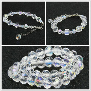 Women-Transparent-Colorful-Bracelet-High-quality-Charm-Crystal-Bracelet-Jewelry