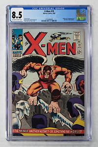 X-MEN #19 CGC 8.5 1st APPEARANCE & ORIGIN MIMIC 1966 MARVEL SILVER AGE