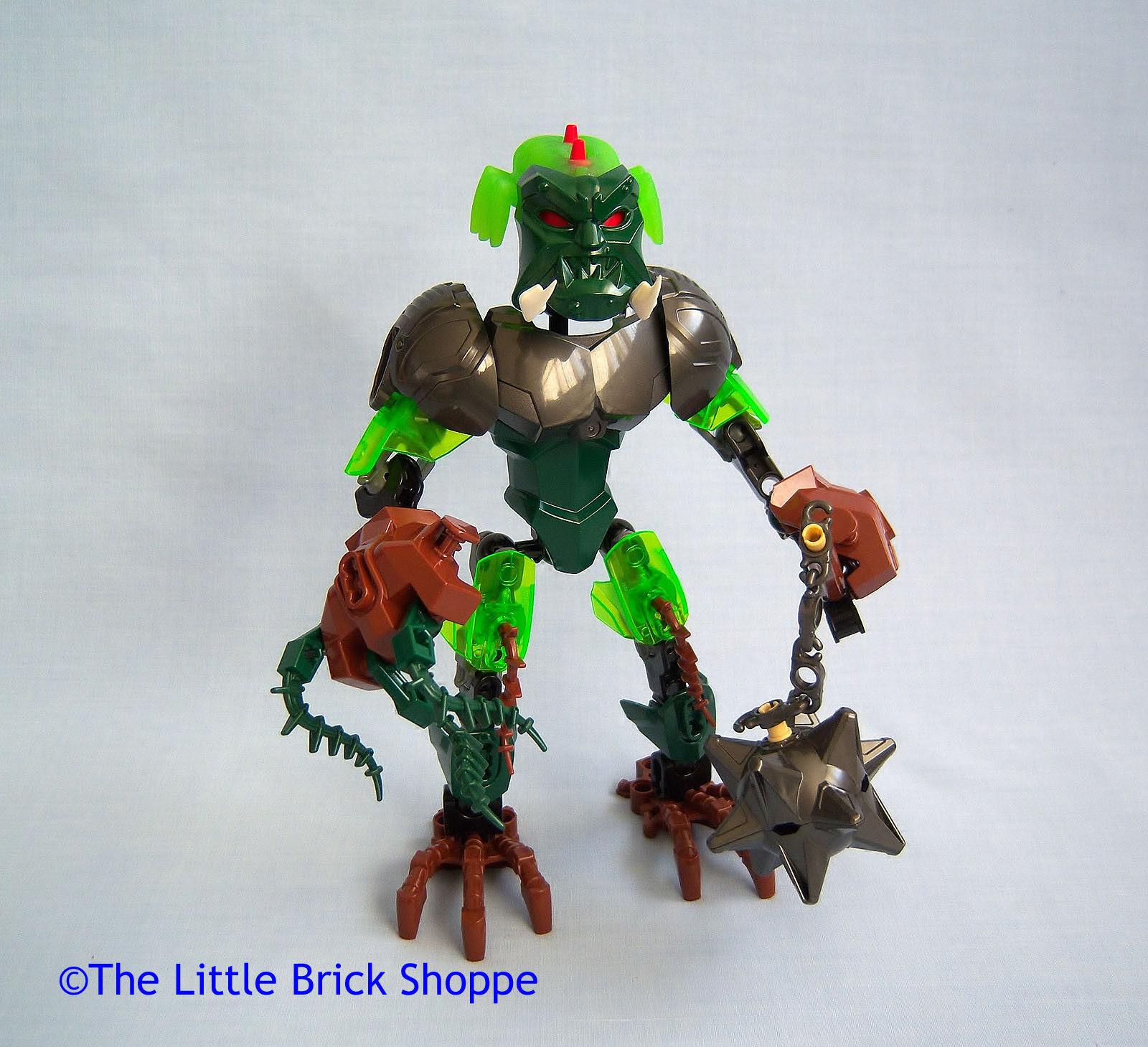 Lego Hero Factory 44007 Ogrum ataque cerebral-completo con instrucciones y y y Pack 2fc835