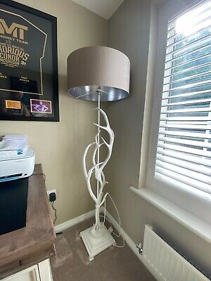 Antler rustic large table lamp (David