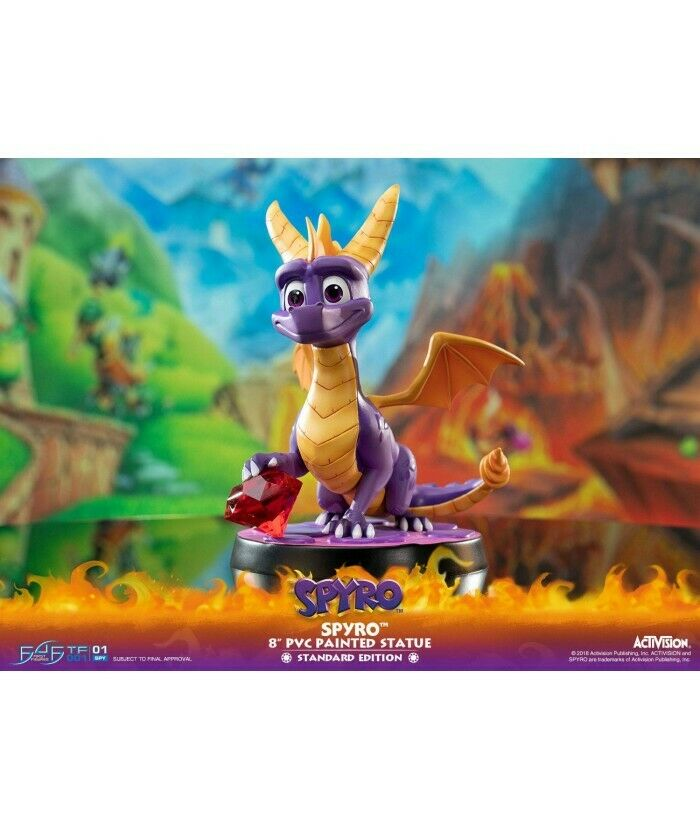 Spyro the Dragon - Spyro 20cm First 4 Figures Statue F4F