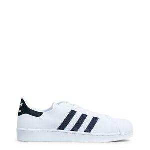 Adidas-Chaussures-Originals-BB2236-Superstar-Noir-Blanc-Sneakers-Unisexe-Tissu