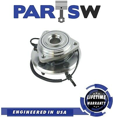 PartsW New Front Wheel Bearing /& Hub Assembly Left Or Right Side for Jeep Wrangler 2007-2017 and Jeep Wrangler JK 2018