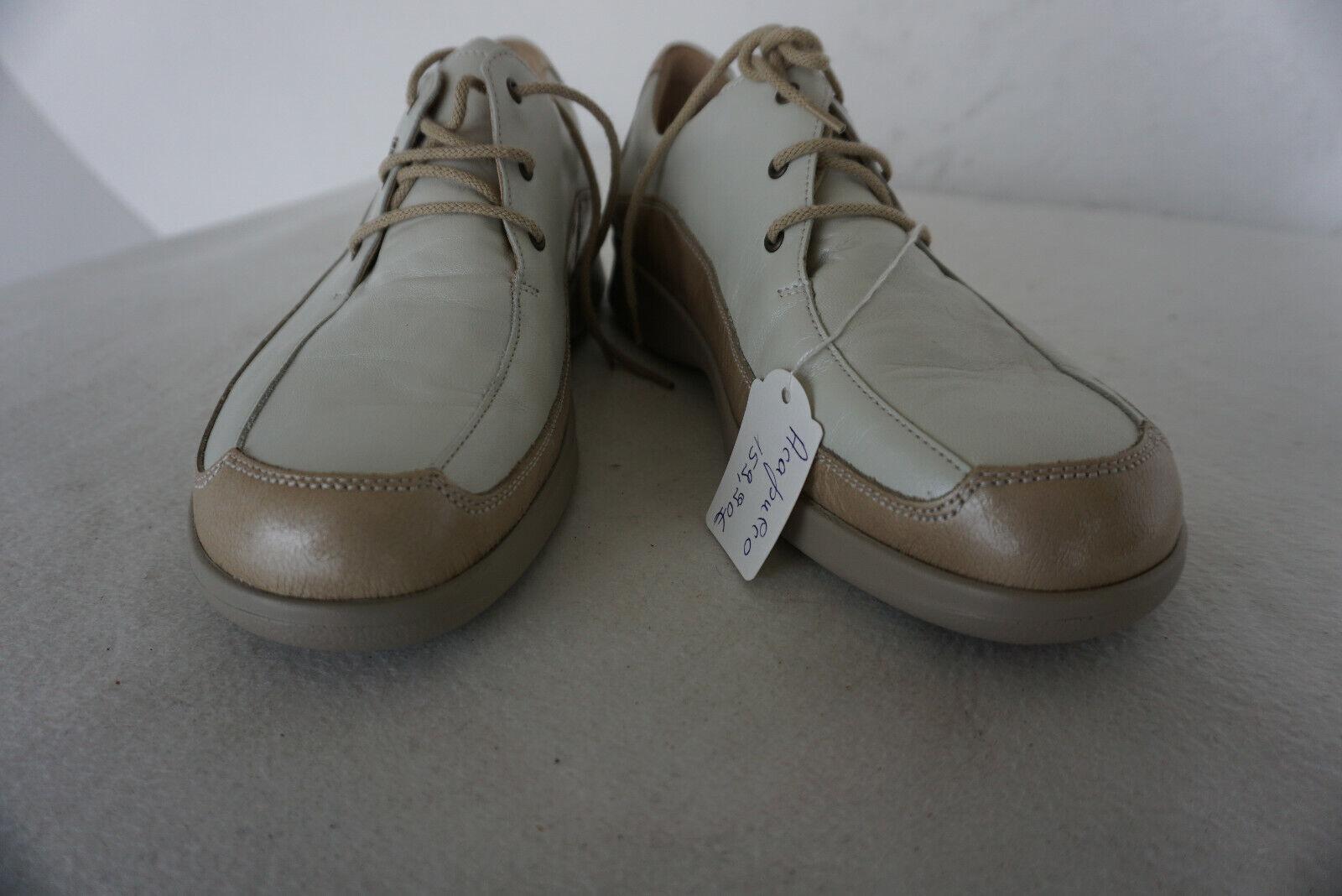 Finn Comfort ACAPULCO Chaussures Femmes Chaussure Lacée M dépôts taille 6,5 40 cuir Neuf