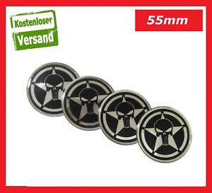 Details About 4x 55mm Emblem Felgen Aufkleber Nabendeckel Felgendeckel Skulls Vw Bmw Opel Ford