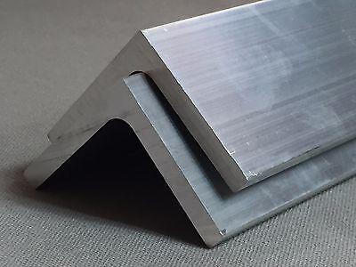 Ángulo de Aluminio extrusiones perfiles de ángulo de varios tamaños 0.5-5M de largo!