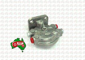"""Tractor Fuel Filter Single Aluminium CAV Head 1/2""""F Massey Ferguson Fordson Case"""