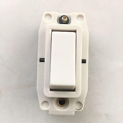 Volex Crabtree Rockergrid 4460 Grid Module VG3460 20AX DP switch white