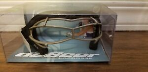 DeBeer Lacrosse Lucent SI Women's Goggles- Black Frame/ Silver Wire NIB