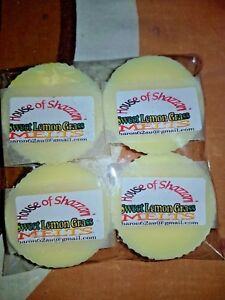 10-Highly-Scented-Soy-Melt-Candle-Wax-Tart-Sweet-Lemongrass-Fragrance